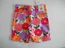 NWT GYMBOREE PRETTY POSIES FLORAL BERMUDA SHORTS SUMMER YOU PICK