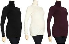GAP MATERNITY 100% COTTON RIBBED TURTLE NECK SWEATER  XS,XL,XXL,2XL NEW NWT