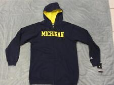 Michigan Wolverines Adidas Full Zip Up Hoodie Boys Kids Youth Multiple Sizes NWT