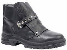 NEW GOLIATH HM2001W FOUNDRY - WELDING ANKLE BOOT BLACK LEATHER