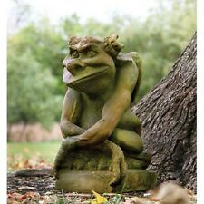 "20"" Oscar Gargoyle Statue, Fiberstone Yard Art, Outdoor or Indoor"