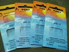 Pony Tapestry, Knitters & Repair  Hand Sewing Needles & Needle Threaders