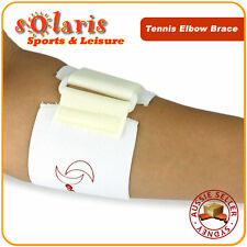 Tennis Elbow Brace Elastic Strap for Tennis/Golfer's Elbow Pain Relief