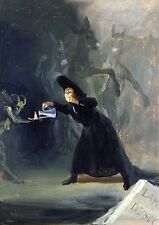 Photo/Poster - A Scene From The Forcibly Bewitched - Goya Francisco De 1746 1828