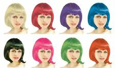 BOB STYLE Wig Quality Party Costume Wig Short Straight Fringe 6 Colors-AU STOCK