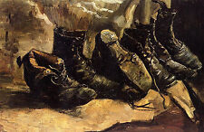 Art Photo Print - Pairs Of Shoes - Gogh Vincent Van 1853 1890