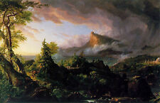 Art Photo Print - Course Of Empire Savage State - Thomas Cole 1801 1848