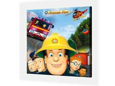 """FIREMAN SAM- CANVAS PICTURE 10"""" x 10"""" - ONLY  £7.99 - 9 Designs Available"""