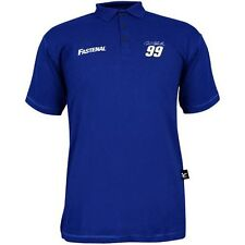 Carl Edwards Chase Authentics #99 Fastenal Polo Shirt FREE SHIP!