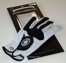 3 New Cabretta Woman's Golf Glove - Left hand for right handed golfers