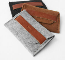 Mupu Wool Money Note ID Credit Name Card Case n for iPhone 4 4s Holder Wallet 21