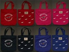 HOLLISTER WOMENS CLASSIC SO CAL TOTE BAG {VARIOUS COLOURS}  BNWT