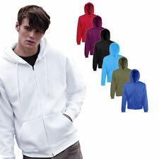 Fruit of the Loom Herren Kapuzenpullover Jacke Sweatshirt Shirt Pulli Hoodie