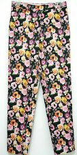 H&M Floral Tapered Pants Spring 2013 Size 2 4 6 8 10 Hot Trend XS S M Beautiful