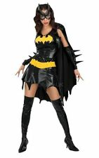 Adult Sexy Batgirl / Bat Girl Ladies Fancy Dress Costume Party Outfit