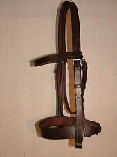 working hunter snaffle bridle Sedgwicks first English leather PLAS
