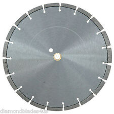 "18"" Diamond Saw Blade Concrete Brick Block Stone Slate Rock Masonry 12mm CUTTING"