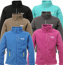 Regatta Marlin II Fleece Jacket Zip Top. Girls Boys Junior Age 3 - 15 yrs