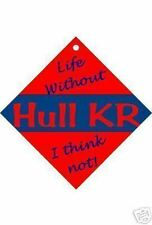 Hull KR Car / Window Sign or flexible magnets Free UK p/p