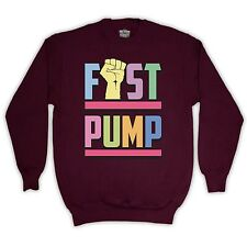 JERSEY SHORE UNOFFICIAL FIST PUMP JUMPER TOP SWEATER ADULTS & KIDS SIZES COLOURS