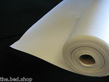 NEW WHITE HEAVY DUTY UPHOLSTERY FAUX LEATHER/ VINYL/FABRIC/LEATHERETTE/MATERIAL