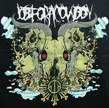 "New! Job For A Cowboy ""Rorschach"" Death Metal Rock Band Licensed Concert T-Shirt"