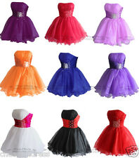 FairOnly Girls Mini Cocktail Club Evening Party Prom Dresses Size 6 810 12 14 16