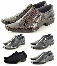 New Mens Italian Style Formal/ Wedding Slip On  shoes Available UK Size 6 - 11