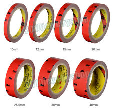 For Auto Truck Car Acrylic Foam Double Sided Adhesive 3M Tape Length 3m