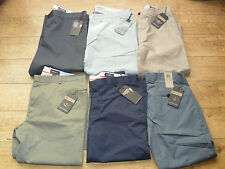 LEVI DOCKERS CHINOS MENS TROUSERS D1 6 COLOUR RANGE LOTS SIZES FLAT FRONTED BNWT