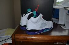 Air Jordan 5 V Retro Grape 2013 Cement 3 fire grapes 4 iv 11 XI concord 13 bred