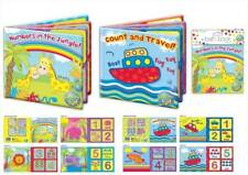 BABY BATH TIME BOOK PLASTIC COATED EDUCATIONAL FUN CHILD TODDLER
