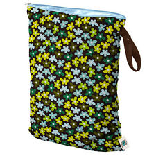 Planet Wise Reusable Wet Bags Waterproof Material Cloth Diaper Bag Size Large