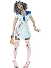 SALE Sexy Zombie Sailor Ladies Halloween Horror Party Fancy Dress Costume Outfit