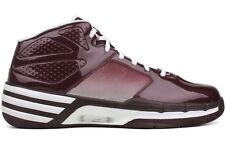Adidas Mad Clima G08890 New Mens Maroon White Athletic Basketball Big Size Shoes