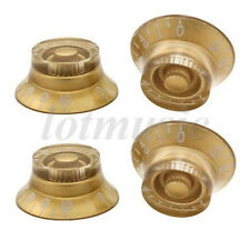 4 Pcs Electric Guitar Speed Knobs Top Hat Control Knobs