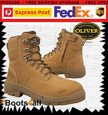 New Oliver Work Boots ATS ZIP UP Safety/Steel Toe Cap Construction/Mining 55232Z