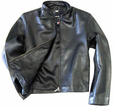 tanners avenue womens black leather moto jacket, lambskin, zip front
