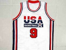 MICHAEL JORDAN TEAM USA JERSEY WHITE NEW SEWN  ANY SIZE XS - 5XL