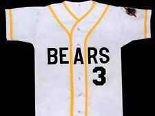 BAD NEWS BEARS #3 BUTTON-DOWN MOVIE JERSEY SEWN QUALITY NEW ANY SIZE XS - 5XL