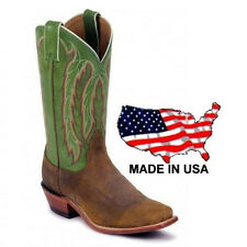 Nocona Ladies Legacy Tan Vintage Cow Leather Cowgirl Boots LD4052