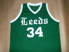 CHARLES BARKLEY LEEDS HIGH SCHOOL GREEN JERSEY NEW ANY SIZE XS - 5XL
