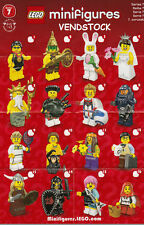 LEGO 8831 SERIES 7 MINIFIGURES BRAND NEW PICK THE FIGURE YOU WANT! VENDSTOCK