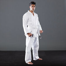 KARATEGI 100% COTTON ADULT STUDENT SUIT MARTIAL KARATE JUJITSU JUJUTSU GI JUDO