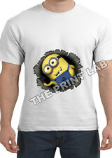 DESPICABLE ME 2 SHORT SLEEVE MENS T SHIRT NOVELTY FUNNY TOP GREAT GIFT STYLE 2