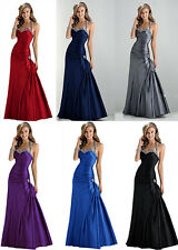 Sexy Evening Prom Bridesmaid Dress Party Gown Stock Size:2 4 6 8 10 12 14 16 18