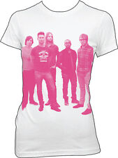 MAROON 5 - Pink Band Photo S,M,L,XL New Girlie T Shirt top Official Merchandise