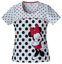 Cherokee Scrubs Limelight Minnie Scrub Top 6710CB MNLL by Disney