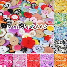 Assorted Mixed Buttons 50g Many Colors Sizes Button For Choice