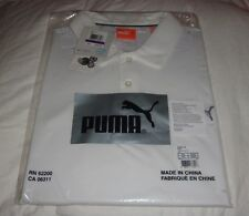 New 2013 Puma Duo Swing Polo White MSRP $75.00
